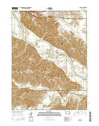 Agency Iowa Current topographic map, 1:24000 scale, 7.5 X 7.5 Minute, Year 2015