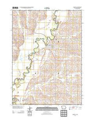 Akron Iowa Historical topographic map, 1:24000 scale, 7.5 X 7.5 Minute, Year 2013