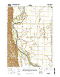 Albaton Iowa Current topographic map, 1:24000 scale, 7.5 X 7.5 Minute, Year 2015