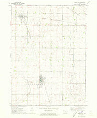 Albert City Iowa Historical topographic map, 1:24000 scale, 7.5 X 7.5 Minute, Year 1971