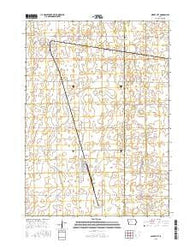 Albert City Iowa Current topographic map, 1:24000 scale, 7.5 X 7.5 Minute, Year 2015
