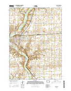 Algona Iowa Current topographic map, 1:24000 scale, 7.5 X 7.5 Minute, Year 2015 from Iowa Map Store