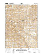 Arcadia Iowa Current topographic map, 1:24000 scale, 7.5 X 7.5 Minute, Year 2015 from Iowa Map Store