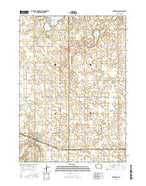 Armstrong Iowa Current topographic map, 1:24000 scale, 7.5 X 7.5 Minute, Year 2015 from Iowa Map Store