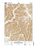 Baxter Iowa Current topographic map, 1:24000 scale, 7.5 X 7.5 Minute, Year 2015 from Iowa Map Store