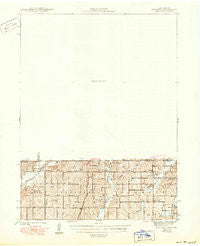 Blockton Iowa Historical topographic map, 1:62500 scale, 15 X 15 Minute, Year 1943