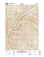 Boyer Iowa Current topographic map, 1:24000 scale, 7.5 X 7.5 Minute, Year 2015 from Iowa Maps Store