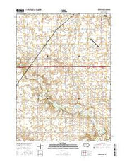 Buckeye East Iowa Current topographic map, 1:24000 scale, 7.5 X 7.5 Minute, Year 2015 from Iowa Maps Store