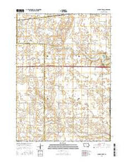 Buckeye West Iowa Current topographic map, 1:24000 scale, 7.5 X 7.5 Minute, Year 2015 from Iowa Maps Store