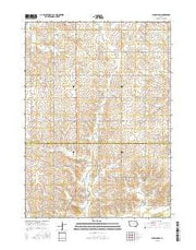 Buckingham Iowa Current topographic map, 1:24000 scale, 7.5 X 7.5 Minute, Year 2015 from Iowa Maps Store