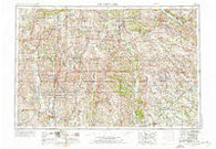 Centerville Iowa Historical topographic map, 1:250000 scale, 1 X 2 Degree, Year 1954