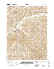 Charter Oak Iowa Current topographic map, 1:24000 scale, 7.5 X 7.5 Minute, Year 2015 from Iowa Maps Store