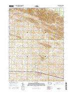 Clarence Iowa Current topographic map, 1:24000 scale, 7.5 X 7.5 Minute, Year 2015 from Iowa Map Store