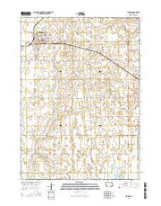 Clarion Iowa Current topographic map, 1:24000 scale, 7.5 X 7.5 Minute, Year 2015 from Iowa Maps Store