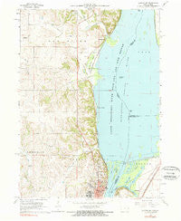 Clinton NW Iowa Historical topographic map, 1:24000 scale, 7.5 X 7.5 Minute, Year 1967
