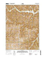 Colesburg Iowa Current topographic map, 1:24000 scale, 7.5 X 7.5 Minute, Year 2015 from Iowa Map Store
