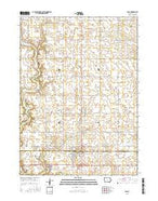 Colo Iowa Current topographic map, 1:24000 scale, 7.5 X 7.5 Minute, Year 2015 from Iowa Map Store