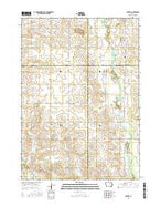 Colwell Iowa Current topographic map, 1:24000 scale, 7.5 X 7.5 Minute, Year 2015 from Iowa Map Store