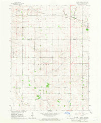 Conrad West Iowa Historical topographic map, 1:24000 scale, 7.5 X 7.5 Minute, Year 1960