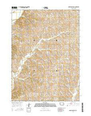 Correctionville SE Iowa Current topographic map, 1:24000 scale, 7.5 X 7.5 Minute, Year 2015 from Iowa Maps Store