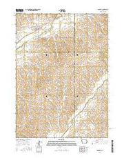 Danbury Iowa Current topographic map, 1:24000 scale, 7.5 X 7.5 Minute, Year 2015 from Iowa Maps Store