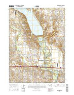 Des Moines NW Iowa Current topographic map, 1:24000 scale, 7.5 X 7.5 Minute, Year 2015 from Iowa Map Store