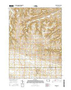 Edgewood Iowa Current topographic map, 1:24000 scale, 7.5 X 7.5 Minute, Year 2015 from Iowa Map Store