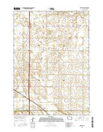 Fertile SE Iowa Current topographic map, 1:24000 scale, 7.5 X 7.5 Minute, Year 2015 from Iowa Map Store