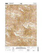 Fillmore Iowa Current topographic map, 1:24000 scale, 7.5 X 7.5 Minute, Year 2015 from Iowa Map Store