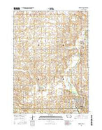 Forest City Iowa Current topographic map, 1:24000 scale, 7.5 X 7.5 Minute, Year 2015 from Iowa Map Store