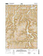 Garber Iowa Current topographic map, 1:24000 scale, 7.5 X 7.5 Minute, Year 2015 from Iowa Map Store