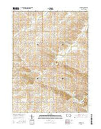 Garrison Iowa Current topographic map, 1:24000 scale, 7.5 X 7.5 Minute, Year 2015 from Iowa Map Store