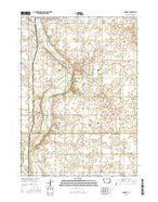 Goodell Iowa Current topographic map, 1:24000 scale, 7.5 X 7.5 Minute, Year 2015 from Iowa Map Store