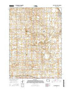 Graettinger West Iowa Current topographic map, 1:24000 scale, 7.5 X 7.5 Minute, Year 2015 from Iowa Map Store