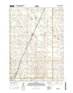 Grafton Iowa Current topographic map, 1:24000 scale, 7.5 X 7.5 Minute, Year 2015 from Iowa Map Store