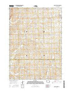 Granville West Iowa Current topographic map, 1:24000 scale, 7.5 X 7.5 Minute, Year 2015 from Iowa Map Store