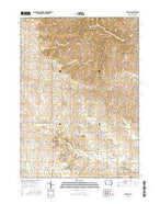Greeley Iowa Current topographic map, 1:24000 scale, 7.5 X 7.5 Minute, Year 2015 from Iowa Map Store