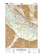 Green Island Iowa Current topographic map, 1:24000 scale, 7.5 X 7.5 Minute, Year 2015 from Iowa Map Store