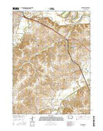 Hartford Iowa Current topographic map, 1:24000 scale, 7.5 X 7.5 Minute, Year 2015 from Iowa Map Store