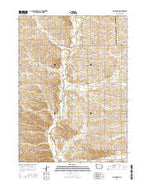 Ida Grove NW Iowa Current topographic map, 1:24000 scale, 7.5 X 7.5 Minute, Year 2015 from Iowa Map Store