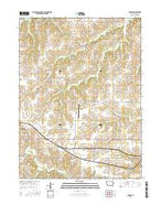 Jamison Iowa Current topographic map, 1:24000 scale, 7.5 X 7.5 Minute, Year 2015 from Iowa Map Store