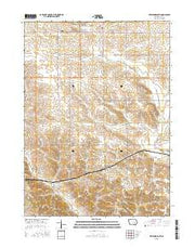 Keystone South Iowa Current topographic map, 1:24000 scale, 7.5 X 7.5 Minute, Year 2015 from Iowa Maps Store