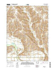 Killduff Iowa Current topographic map, 1:24000 scale, 7.5 X 7.5 Minute, Year 2015 from Iowa Maps Store