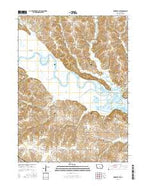 Knoxville NW Iowa Current topographic map, 1:24000 scale, 7.5 X 7.5 Minute, Year 2015 from Iowa Map Store