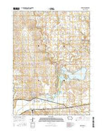Lake View Iowa Current topographic map, 1:24000 scale, 7.5 X 7.5 Minute, Year 2015 from Iowa Map Store