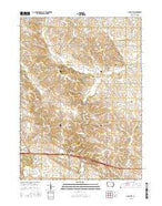 Lime City Iowa Current topographic map, 1:24000 scale, 7.5 X 7.5 Minute, Year 2015 from Iowa Map Store