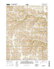 Lorimor North Iowa Current topographic map, 1:24000 scale, 7.5 X 7.5 Minute, Year 2015 from Iowa Maps Store