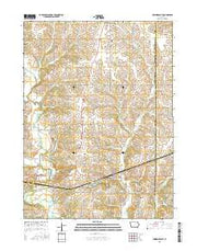 Lorimor South Iowa Current topographic map, 1:24000 scale, 7.5 X 7.5 Minute, Year 2015 from Iowa Maps Store