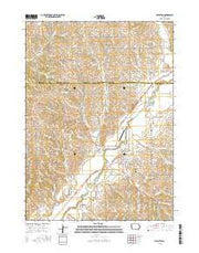 Mapleton Iowa Current topographic map, 1:24000 scale, 7.5 X 7.5 Minute, Year 2015 from Iowa Maps Store