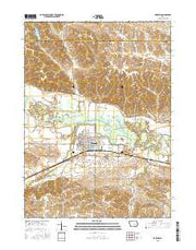 Marengo Iowa Current topographic map, 1:24000 scale, 7.5 X 7.5 Minute, Year 2015 from Iowa Maps Store